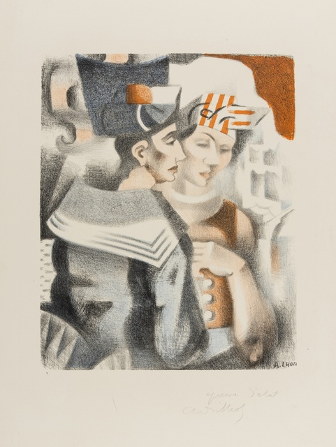 André Lhote, 'Le Marin at la Martiniquaise', circa 1930, Forum Auctions