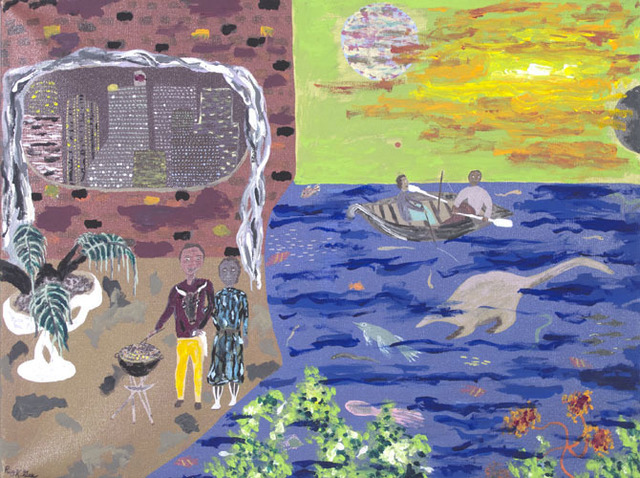 , 'The Good Life Featuring The Fortunate Few,' 1998, David Barnett Gallery