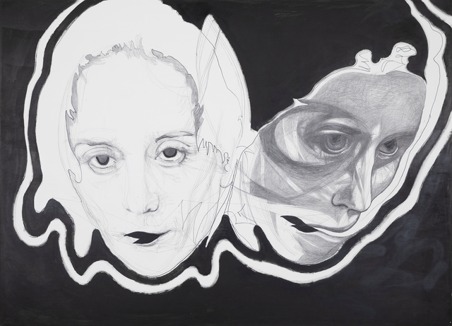 , 'SNAKE FACE,' 2018-2019, Galerie Krinzinger
