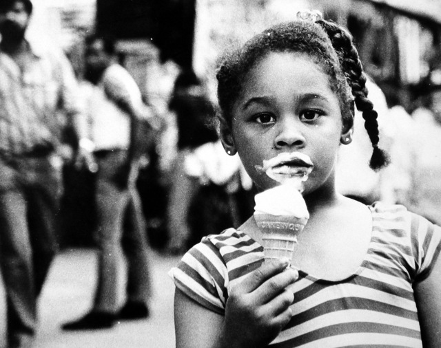, 'Untitled (young girl with ice cream cone),' , Robert Mann Gallery