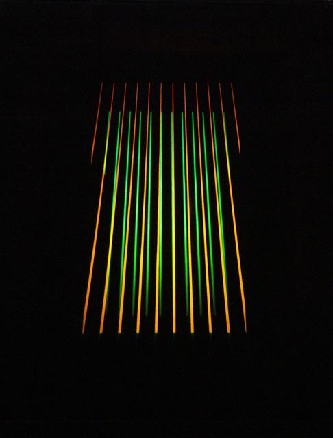 , 'LaserSketch.02,' 2016, Johannes Vogt Gallery
