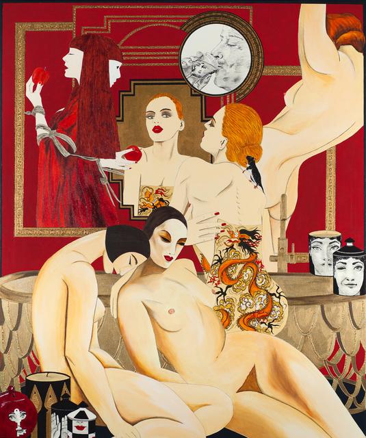 , 'Chew the apple,' 2019, Elka Bronner Gallery