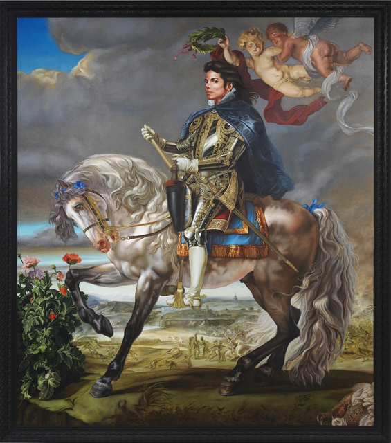 Kehinde Wiley, 'Equestrian Portrait of King Philip II (Michael Jackson)', 2009, Seattle Art Museum