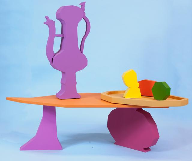 , 'Table I,' 2018, The Hole