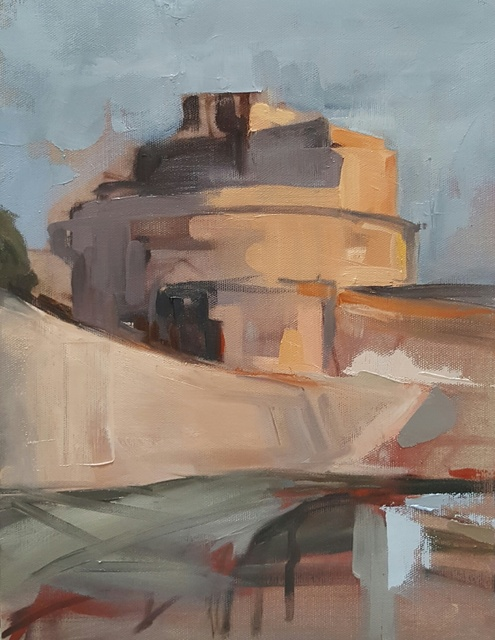 , 'Castel Sant'Angelo,' 2017, Susan Calloway Fine Arts