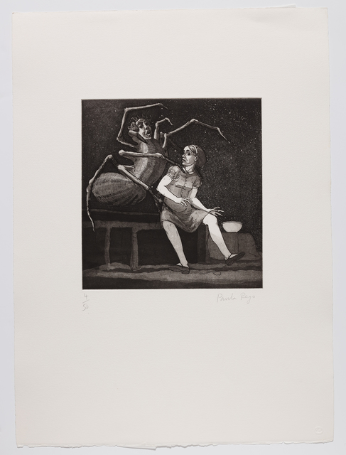 Paula Rego, 'Little Miss Muffet I', 1989, Marlborough Graphics