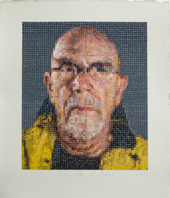 Chuck Close, 'Self-Portrait / Felt Hand Stamp,' 2012, Adamson Gallery