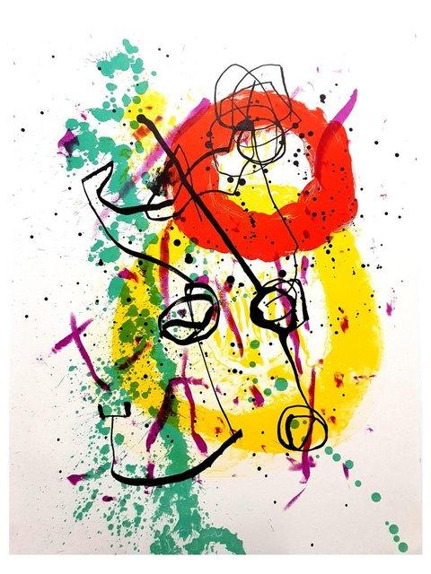 Joan Miró, 'Joan Miro - Moon Bird, Sun Bird - Original Lithograph', 1961, Galerie Philia