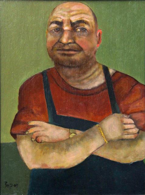 Stephen Basso, 'shoe repairman', ca. 2012, Tabla Rasa Gallery