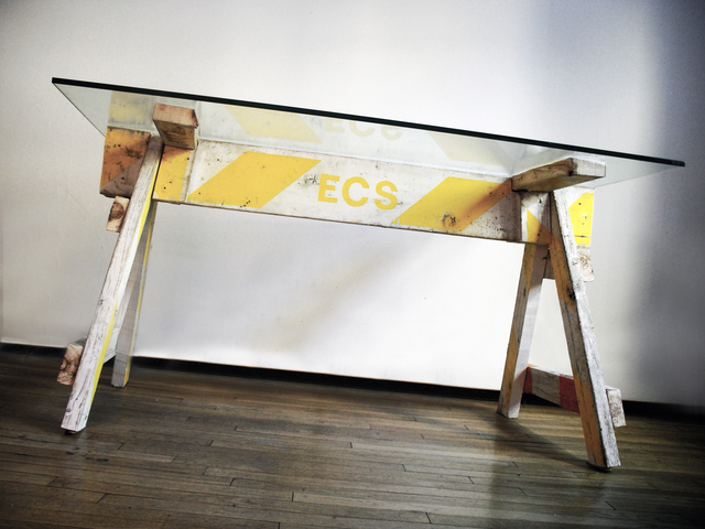 , 'Emergency table,' 2009, Galleria Ca' d'Oro