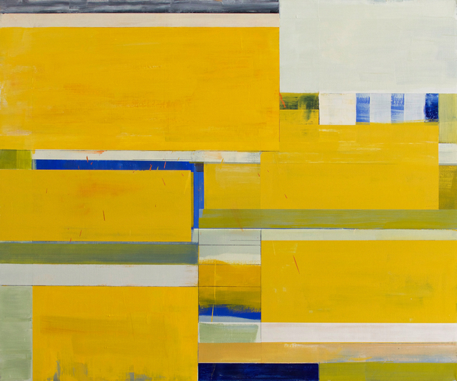 , 'Yellow Shim Small,' 2015, CYNTHIA-REEVES
