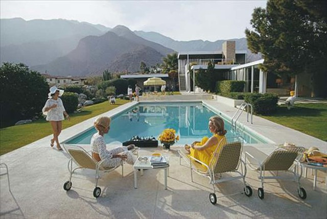 Slim Aarons, 'Slim Aarons: Kaufman Desert House (sister image to Poolside Glamour and Poolside Gossip), Slim Aarons Estate Edition', 1970, Undercurrent Projects