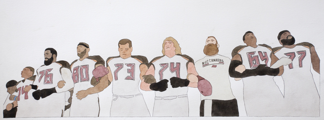 , 'National Anthem (Tampa Bay Buccaneers),' 2019, Haines Gallery