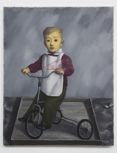 , 'The Boy Riding Velocipede,' 2018, Pace Gallery