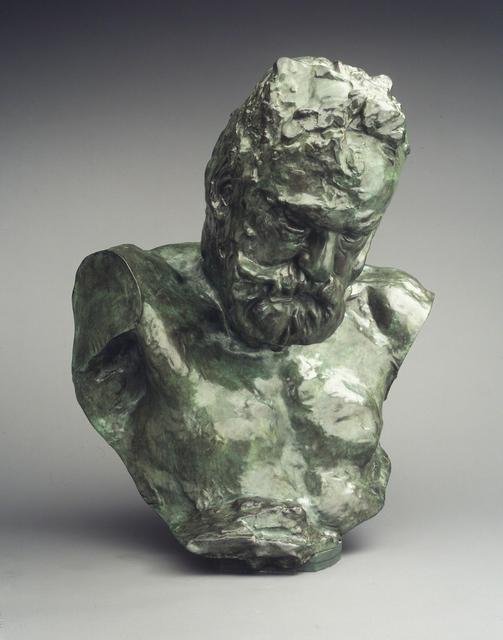 , 'Monumental Bust of Victor Hugo,' 1902, Brooklyn Museum