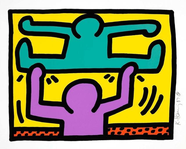 Keith Haring, 'Pop Shop I (D)', 1987, Hang-Up Gallery