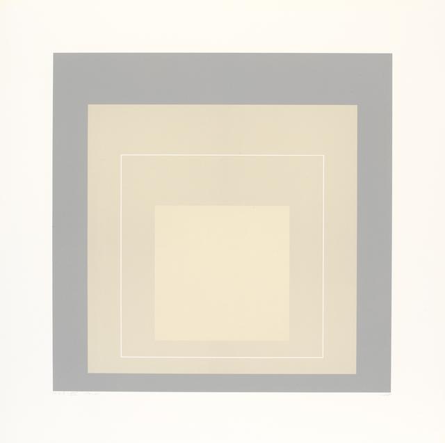 , 'WLS XIV (from White Line Squares),' 1966, Pilar Serra