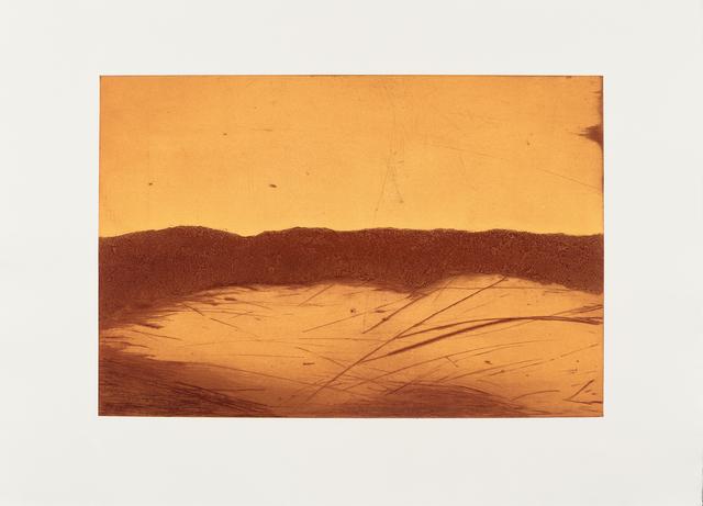 Laine Groeneweg, 'Rust Lake ', 2020, Print, Collagraph & Drypoint, CMS Art Projects