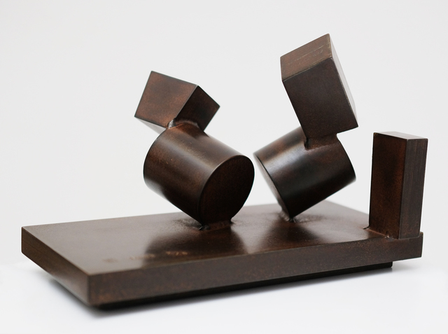 ", 'Composition ""David Smith"" ,' 1988, Galerie Loft"