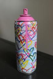 Hearts spray can