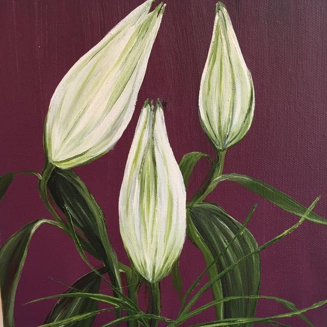 Allison Green, 'Garden Study 1 ', 2014, Painting, Oil on canvas, Susan Eley Fine Art