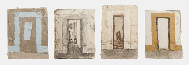 , 'Untitled (Doorway constructions),' n.d., Fleisher/Ollman