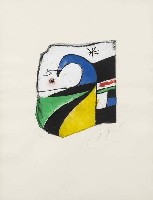 Joan Miró, 'Gaudí X', 1979, Invertirenarte.es