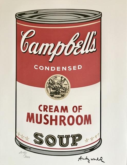 , 'Campbell's Soup : Cream of Mushroom,' 1986, ByNewArt