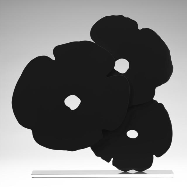 Donald Sultan, 'Black Poppies', 2017, Meyerovich Gallery
