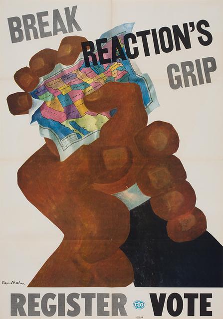 Ben Shahn, 'Break Reaction's Grip ', n.d., DC Moore Gallery