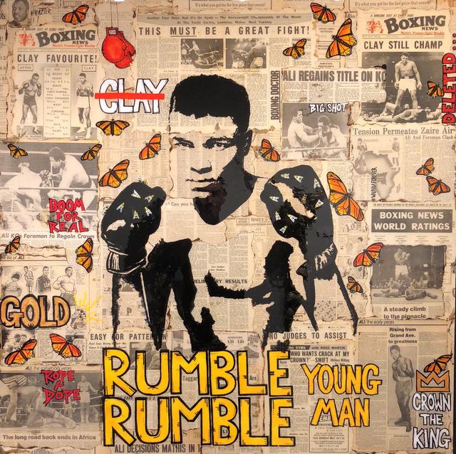, 'Rumble Rumble Young Man,' 2018, Gallery Victor Armendariz