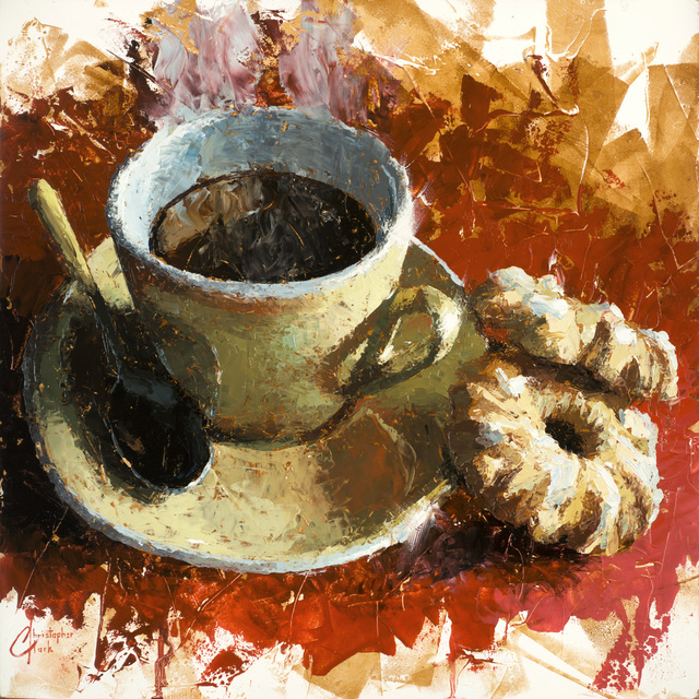 Christopher Clark, 'Cafe Italiano and Cookies', 2016, Abend Gallery