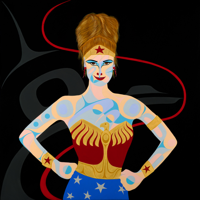 , 'Carollyne: Raven Wonder Woman,' 2017, Fazakas Gallery