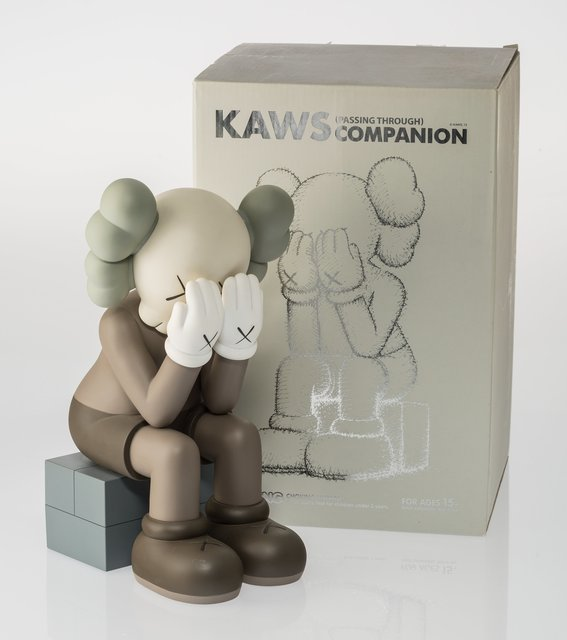 KAWS, 'Companion (Passing Through) (Brown)', 2013, Other, Painted cast vinyl, Heritage Auctions