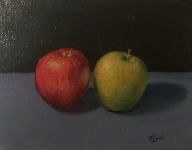 Matthew Mayer, '2 Apples', 2018, MvVO ART