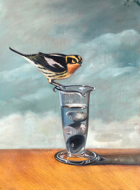 , 'More Than Half Full,' 2018, Sue Greenwood Fine Art