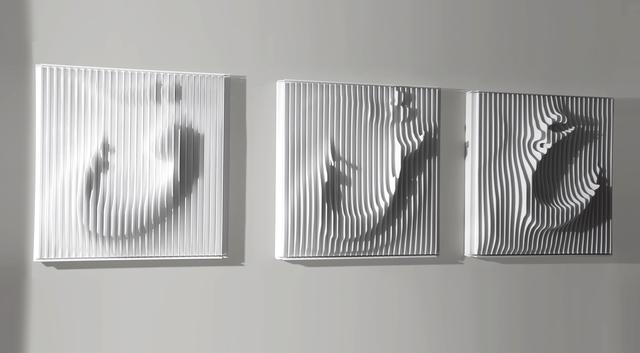 , 'Eyn Shin Ghaf (white),' 2017, Sophia Contemporary