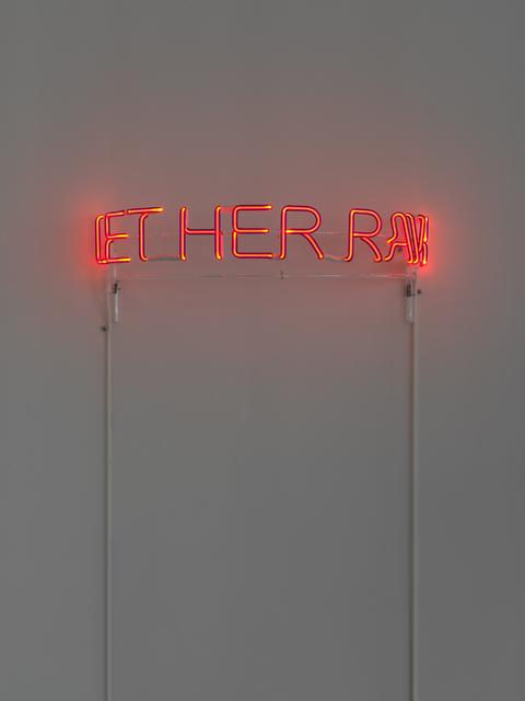 , 'Let Her Rave,' 2017, Gavlak