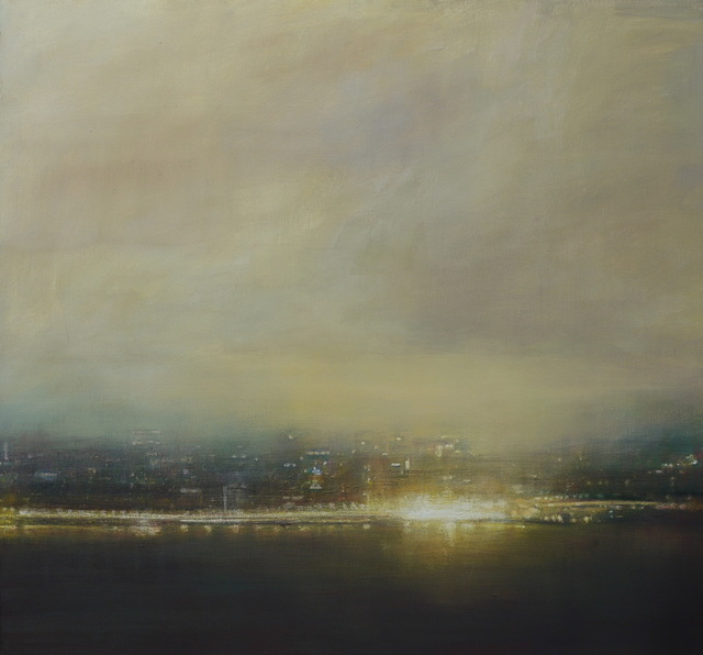 Benjamin Warner, 'Dusk, Hong Kong Harbour', 2019, Tanya Baxter Contemporary