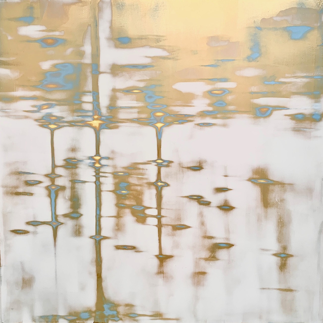 , 'Radiant (gold),' 2019, George Billis Gallery