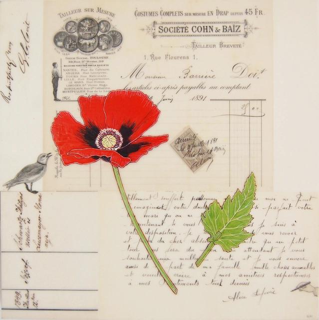 , 'Red Poppy #5,' , Gail Severn Gallery
