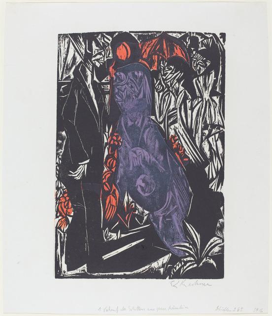 Ernst Ludwig Kirchner, 'Verkauf des Schattens', 1915, National Gallery of Art, Washington, D.C.