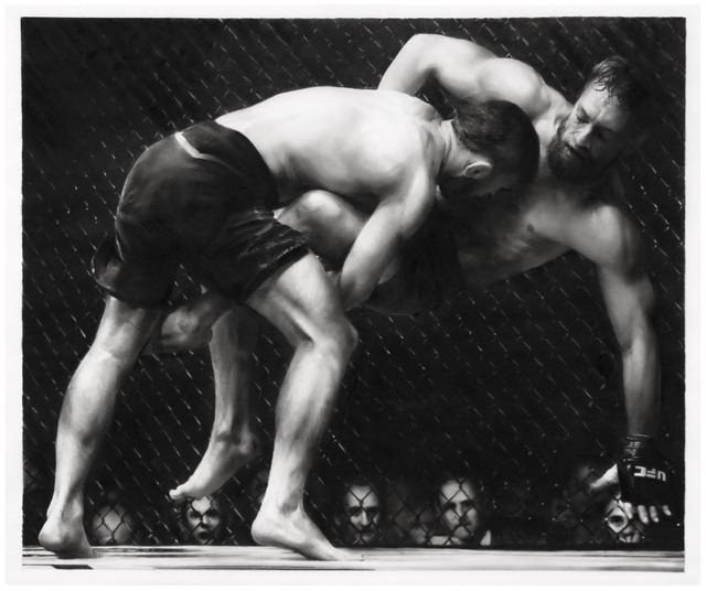 Robert Longo, 'Study of UFC', 2018, Eric Firestone Gallery