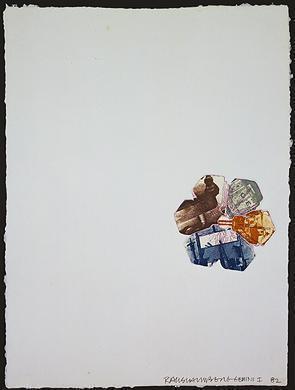 Robert Rauschenberg, '400' and Falling', 1982, Vertu Fine Art