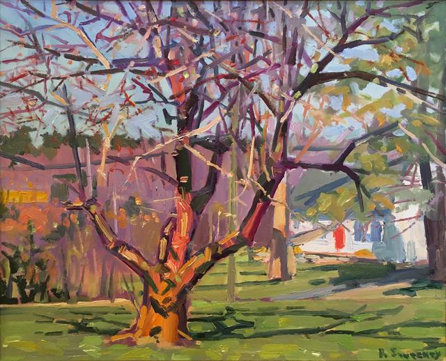 , 'Apple Tree, April,' 2017, William Baczek Fine Arts
