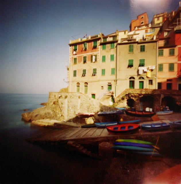 , 'Cinque Terra, Riomaggiore, Red Boat,' 2004, Newzones