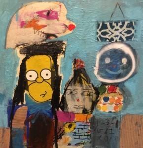 , 'Barrio Diver City,' 2017, Van Der Plas Gallery