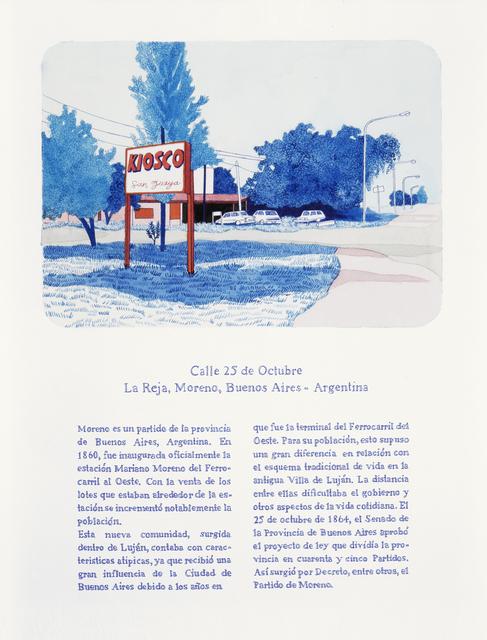 , 'Todas las calles del año. 25 de octubre,' , Rosa Santos