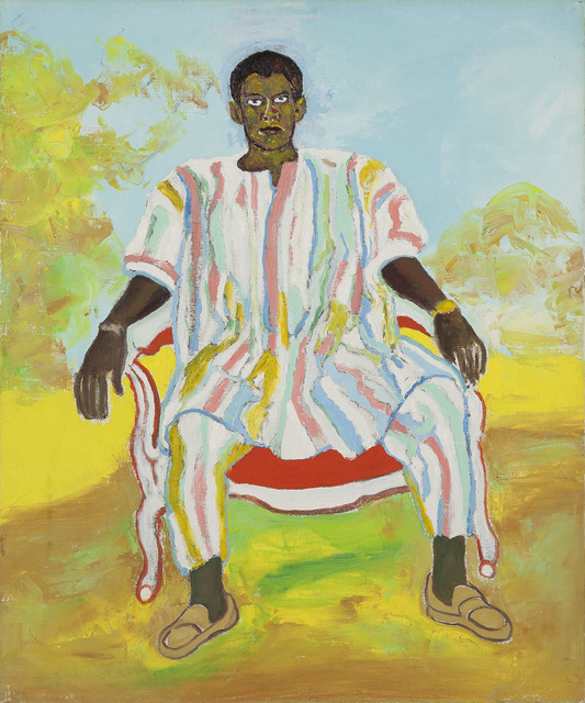 , 'Untitled (Man in African Dress),' ca. 1972, Michael Rosenfeld Gallery