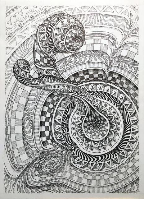 , 'Mandala Study II,' 2018, Mirus Gallery